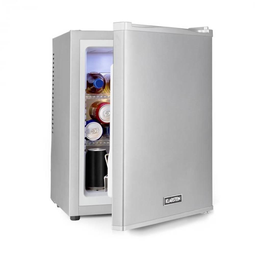 Klarstein Klarstein Happy Hour 32, mini bar, 32L, 5-15°C, EEC A+, tichý, 0dB, LED-svetlo, strieborný