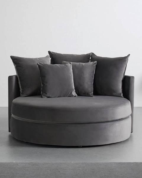 Sivá pohovka Möbelix