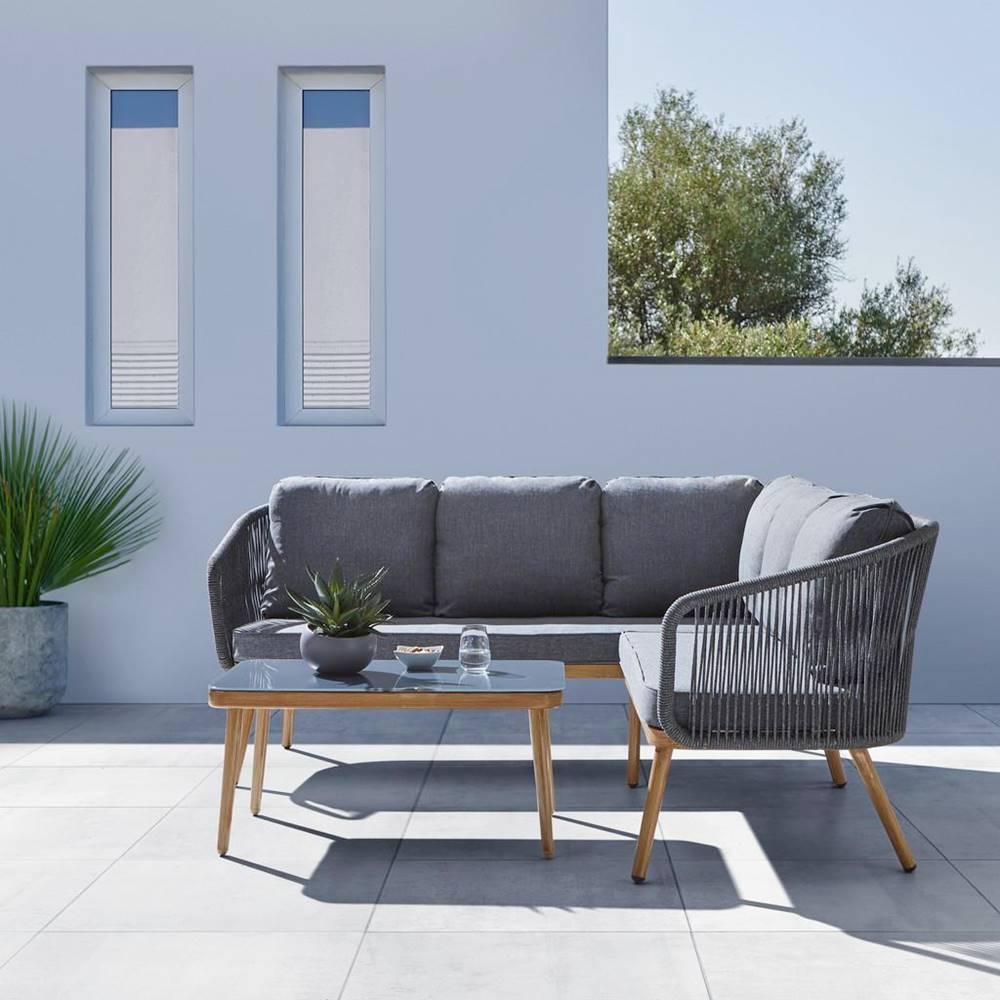 Möbelix Záhradná sedacia súprava sofia