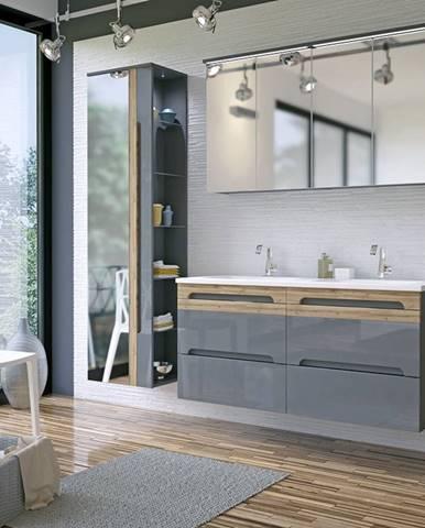 Sivé doplnky do kúpeľne ArtCom