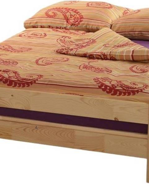 Béžová posteľ ArtLod