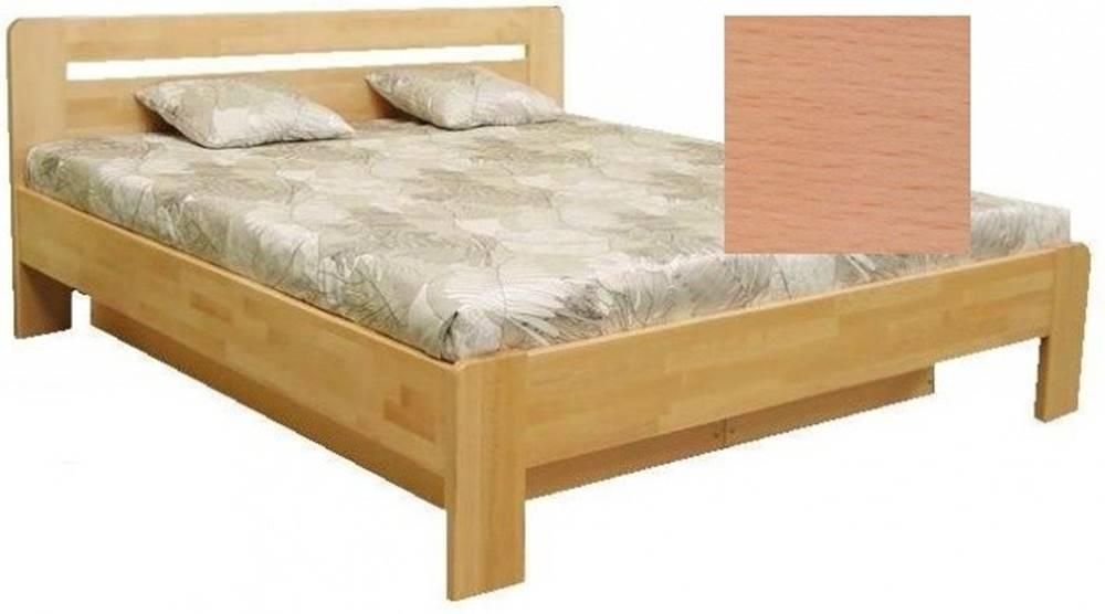 OKAY nábytok Drevená posteľ Kars 2, 180x200 vr. výkl.roštu a úp, bez matracov