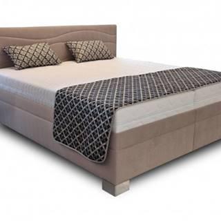 Čalúnená posteľ Windsor 180x200 vrátane výkl.roštov,matrac. a úp