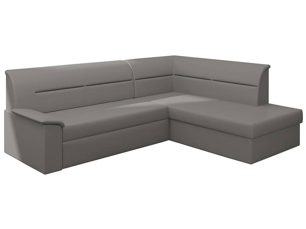 NABBI Estrela P rohová sedačka s rozkladom a úložným priestorom sivá (Soft 29)