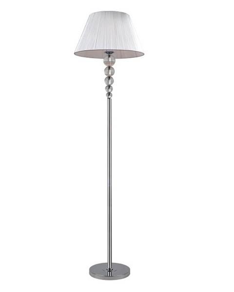 Strieborná stajaca lampa Tempo Kondela