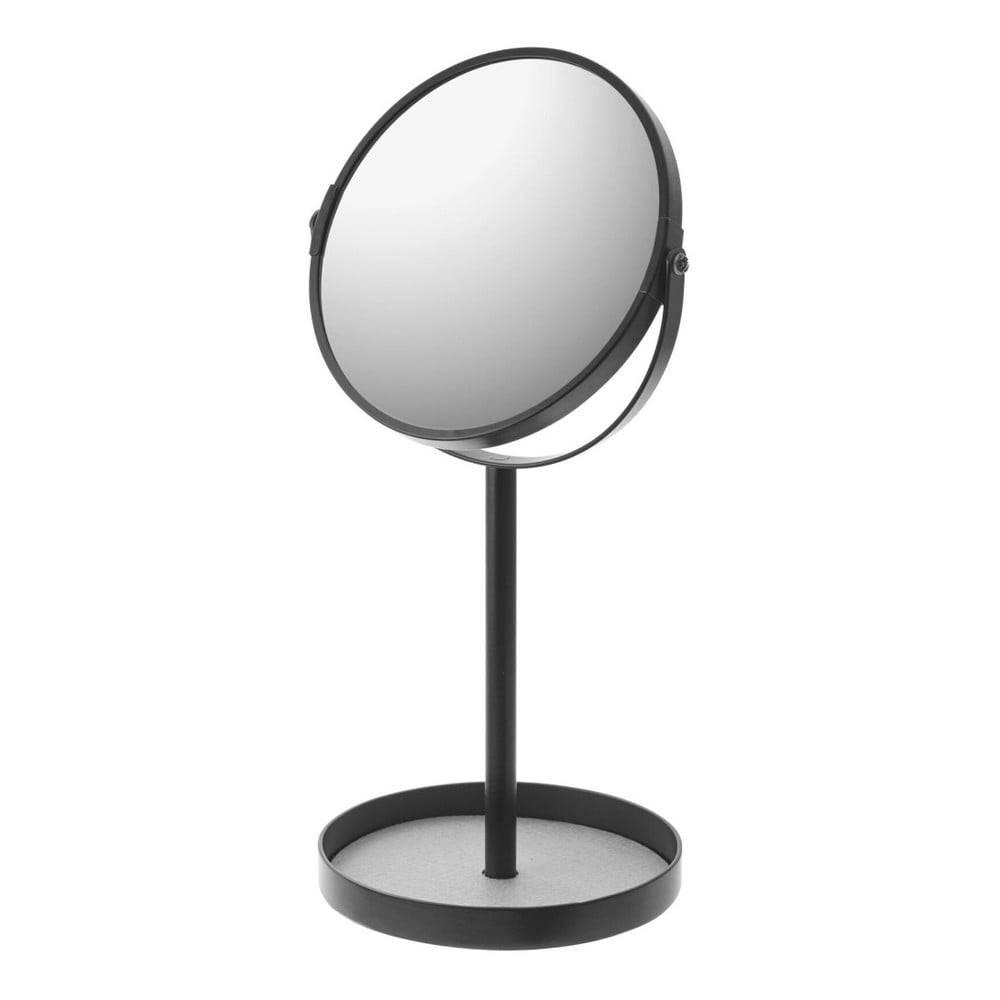 YAMAZAKI Čierne zrkadlo s miskou YAMAZAKI Matsuyama